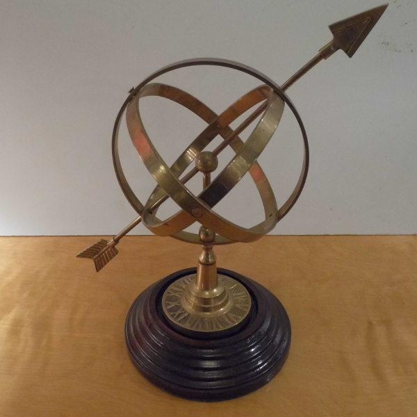 Vintage Armillary Sphere Travers Antiques, Antique Armillary Sphere
